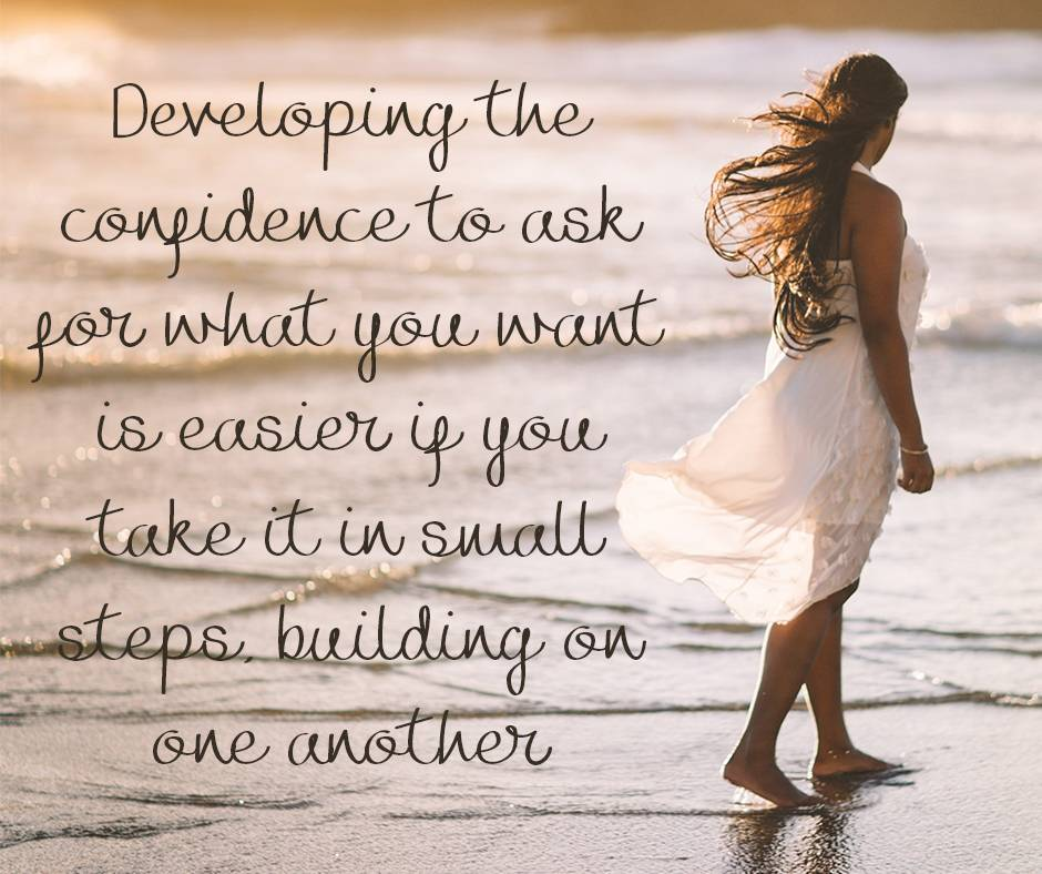 Developing the confidence to ask