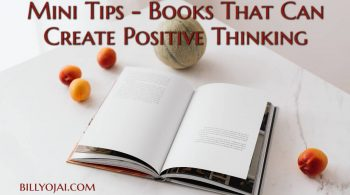 Mini Tips - Books That Can Create Positive Thinking